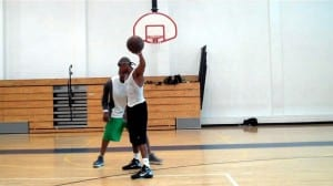 1 on 1 clip #205 crosover step drive finish dre baldwin