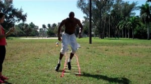 speed ladder on off drill circuit pt 1 dre baldwin