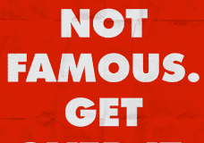 You're Not Famous Enough… So Here's Our Convenient Excuse [Daily Game]